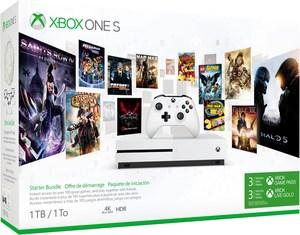 Microsoft Xbox One S Konsole (1TB) Starter Bundle