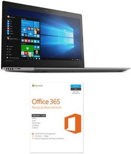 Lenovo IdeaPad 320-17ABR (80YN0013GE) 43,9 cm (17,3´´) Notebook onyx black inkl. Office 365 (1J.)