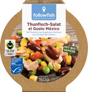 followfish Thunfisch-Salat el Gusto Mexico, MSC Zertifizierung, Fair Trade