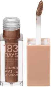 183 DAYS by trend IT UP Lipgloss Shimmer Matte Lipcream 020