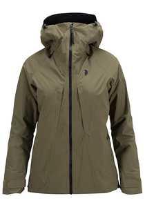 Peak Performance Teton 2L - Outdoorjacke für Damen - Grün