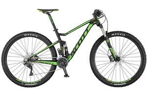 Scott Spark 960 2017 | 41 cm | black green lime