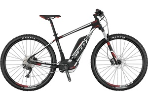 Scott E-Scale 930 2017 | 44 cm | black white red