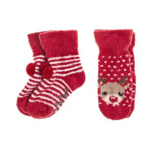 Baby Anti-Rutsch-Socken 2er Pack