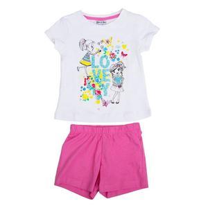 Set T-Shirt & Shorts für Mädchen