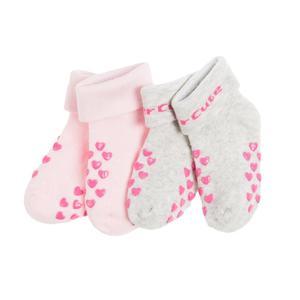 Baby Krabbelsocken 2er Pack für Mädchen