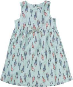 Kinder Kleid mit Schleife Gr. 104/110 Mädchen Kleinkinder