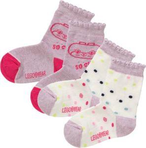 Baby Socken Doppelpack Gr. 22-24 Mädchen Kleinkinder