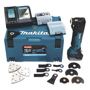 Makita Akku-Multifunktions-Werkzeug 18V DTM51RT1J3