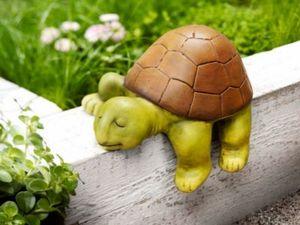 "Kantenhocker Schildkröte ""Sleepy"""