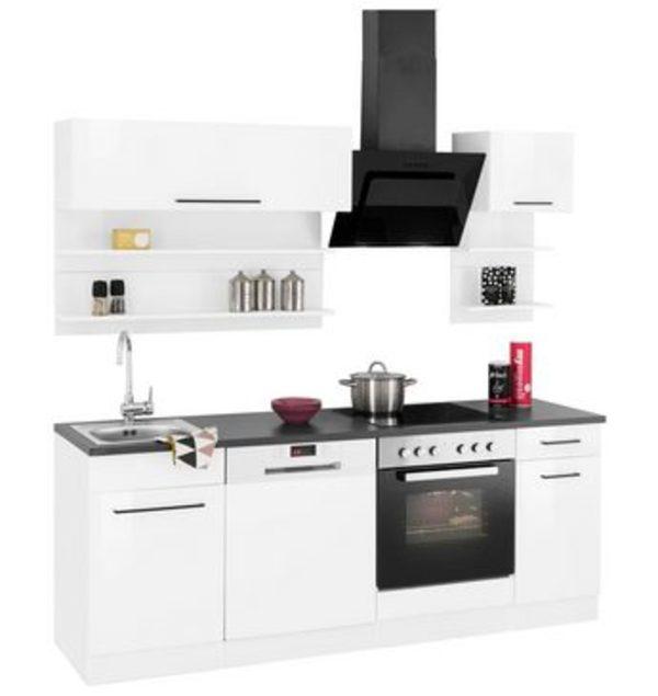 HELD MÖBEL Küchenzeile Mit E Geräten »Tulsa«, Breite 210 Cm