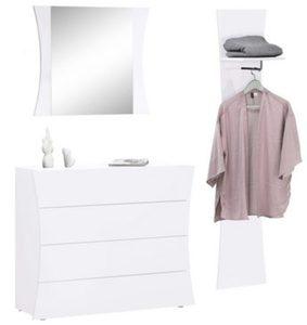 garderobe hochglanz wei von m bel boss ansehen. Black Bedroom Furniture Sets. Home Design Ideas