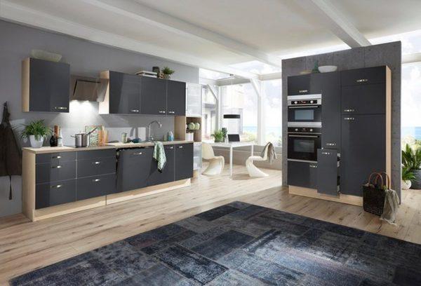 Optifit »Cara« Küchenzeile ohne E-Geräte, Breite 480 cm von ...