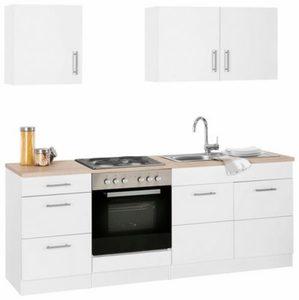 HELD MÖBEL »Perth« Küchenzeile mit E-Geräten, Breite 210 cm
