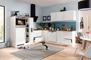 HELD MÖBEL Winkelküche ohne E-Geräte »Samos«, Breite 260/270 cm