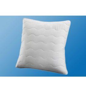 Microfaserkissen, »Microlux«, Traumecht, Füllung: 100% Polyester, Bezug: 100% Polyester, (1-tlg), mit stützenden Faserbällchen, waschbar bis 95° Grad