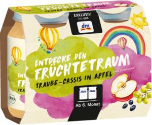 Alete Entdecke den Früchtetraum Traube-Cassis in Apfel ab 6. Monat, 2x180g