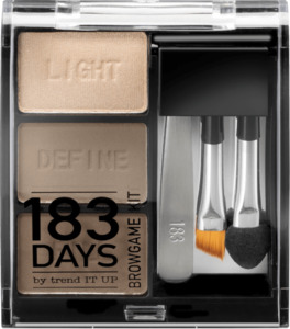 183 DAYS by trend IT UP Augenbrauen Browgame Kit 020