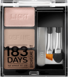 183 DAYS by trend IT UP Augenbrauen Browgame Kit 010