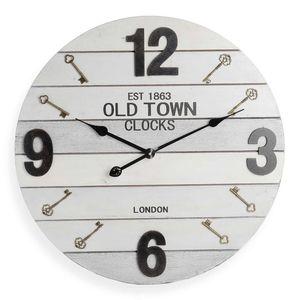 Uhr Schlüssel, D:60cm, grau