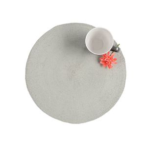 Tischset Silver Shine, D:38cm, mintgrün