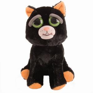 Feisty Pets Schwarze Katze