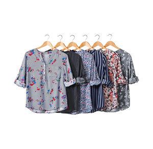 Laura Torelli COLLECTION Damen-Bluse in verschiedenen Designs