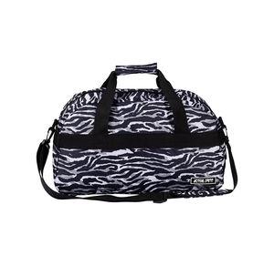 Sporttasche mit Zebra-Muster