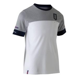 KIPSTA Fußballshirt FF100 Frankreich Kinder weiß/grau, Größe: 6 J. - Gr. 116