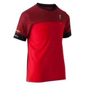 KIPSTA Fußballshirt FF100 Belgien Kinder rot, Größe: 8 J. - Gr. 128