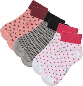 Kinder Socken 3er-Pack Gr. 35-38 Mädchen Kinder
