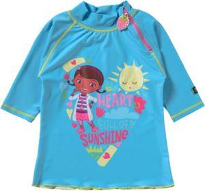 Kinder Schwimmshirt Doc McStuffins mit UV-Schutz Gr. 98/104