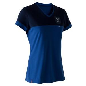 Fußballshirt FF100 Frankreich Damen blau KIPSTA