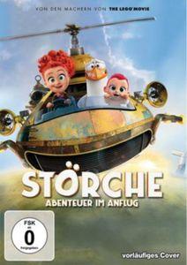 DVD Störche - Abenteuer im Anflug