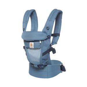 ERGOBABY®  ADAPT Cool Air Mesh Babytrage, 3 Tragepositionen Oxford Blue