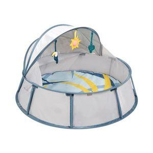 BABYMOOV   Reise-Strandbett Babyni Tropical mit UV-Schutz