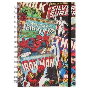 Marvel Spiralnotizbuch, liniert, DIN A5, 90 Blatt