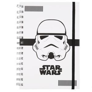 Star Wars Spiralnotizbuch, Stormtrooper, liniert, DIN A5, 90 Blatt