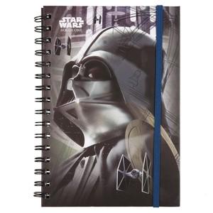 Star Wars Spiralnotizbuch, Darth Vader, liniert, DIN A5, 90 Blatt