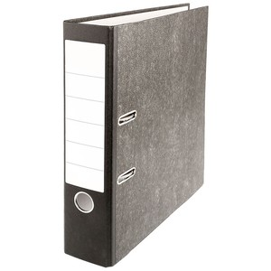 Aktenordner schwarz DIN A4, 8 cm