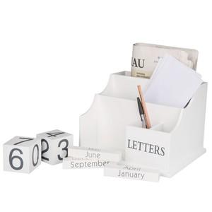 Briefhalter mit Kalender