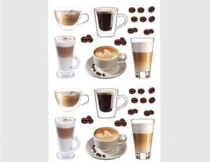Wandtattoo Kaffeetassen