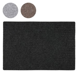 Filz-Fußmatte 60 x 40 cm grau