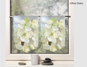 2er Set Fensterbild Chesterfield weiß