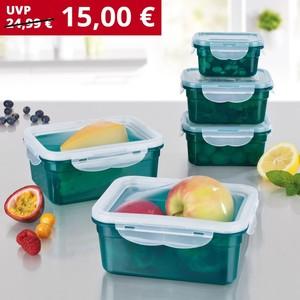 Gourmetmaxx Frischhaltedosen-Set Klick-it, 10-teilig