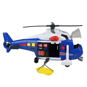 Dickie Toys Action Series, Rettungshubschrauber, 31 x 19,5 x 12 cm, blau