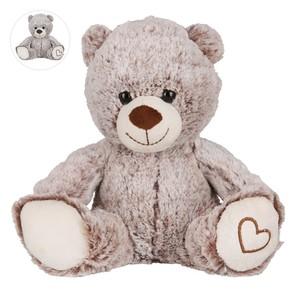 Teddybär sitzend 23 cm braun
