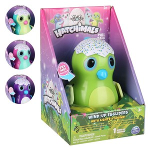 Spinmaster Hatchimal Wind-Up Eggliders türkis