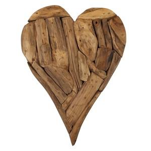 Deko-Herz aus Holz rustikal