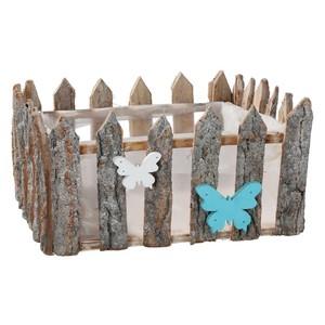 Pflanzkübel aus Holz